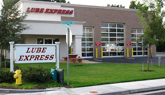 Lube Express Store Front